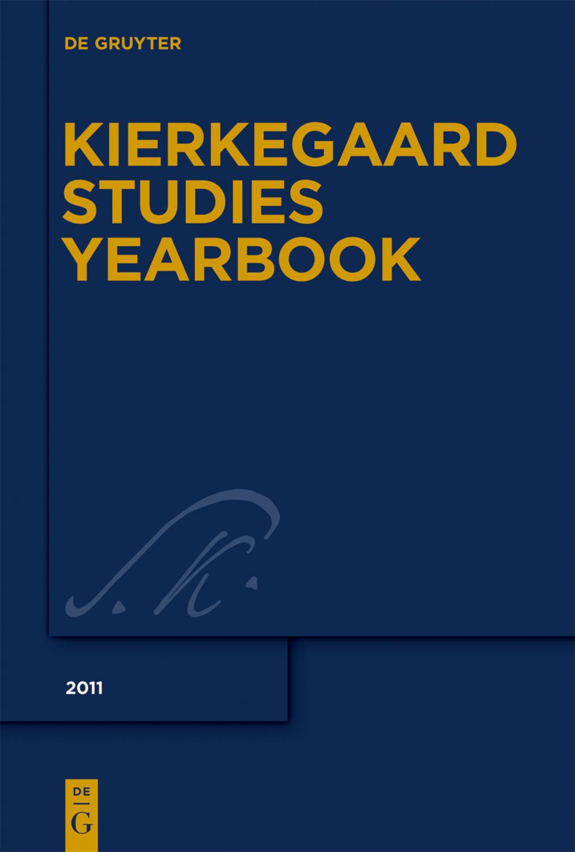 Cover Kierkegaard Studies Yearbook