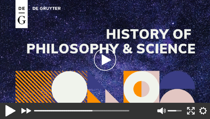 History of Philosophy & Science