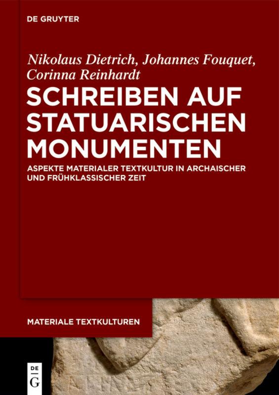 Schreiben auf statuarischen Monumenten