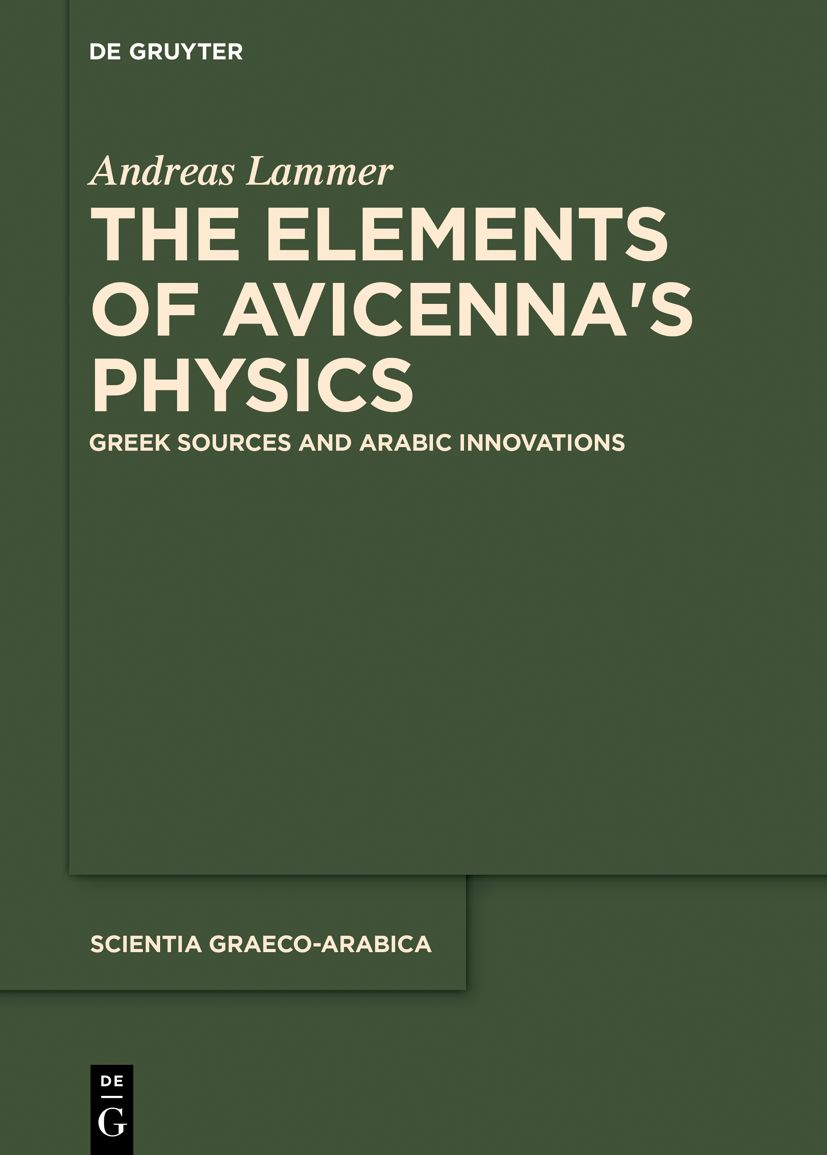 The Elements of Avicenna's Physics