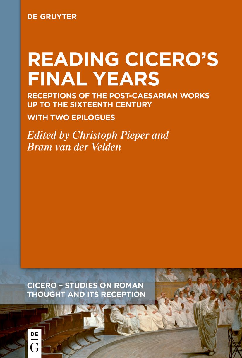 Reading Cicero's Final Years