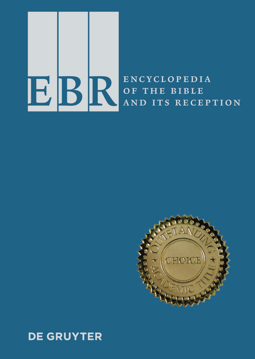 Encyclopedia of the Bible and Its Reception (EBR)