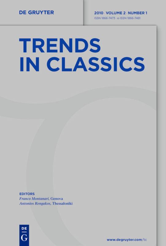 Trends in Classics