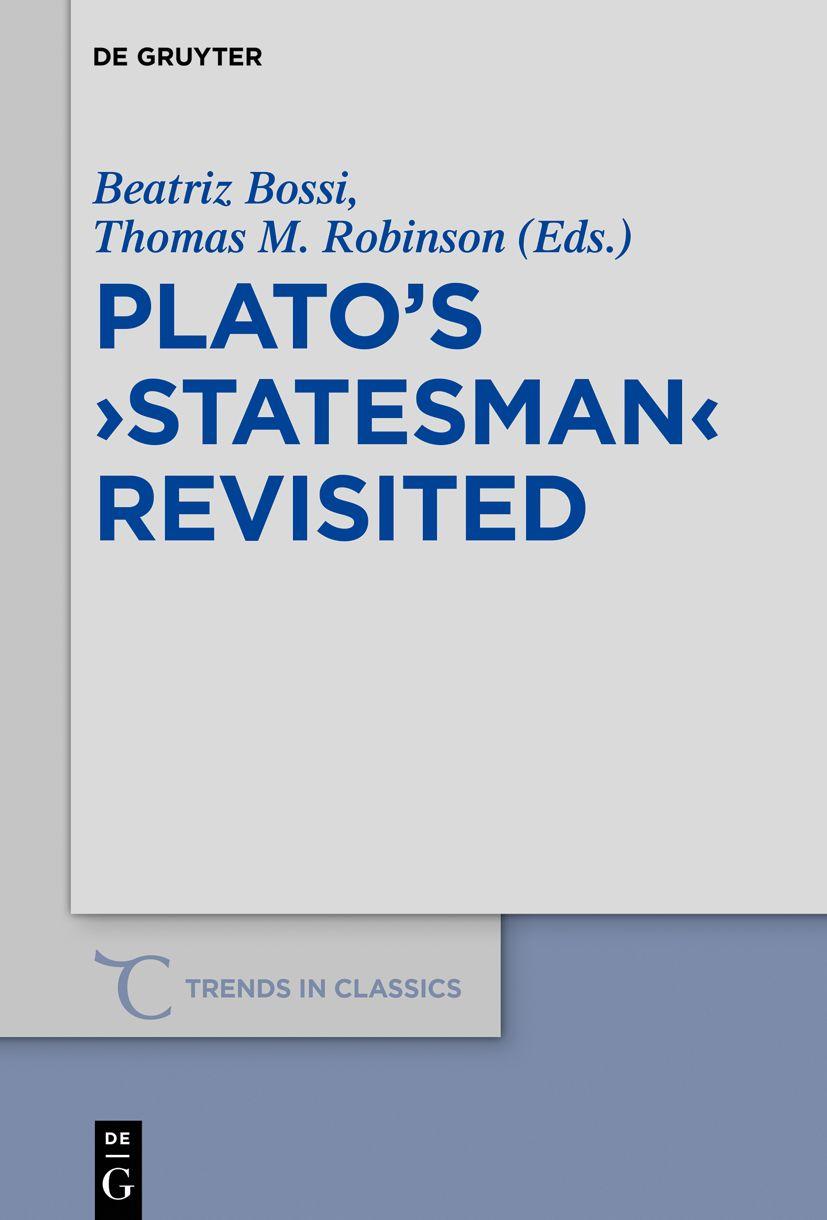 Plato's ›Statesman‹ Revisited