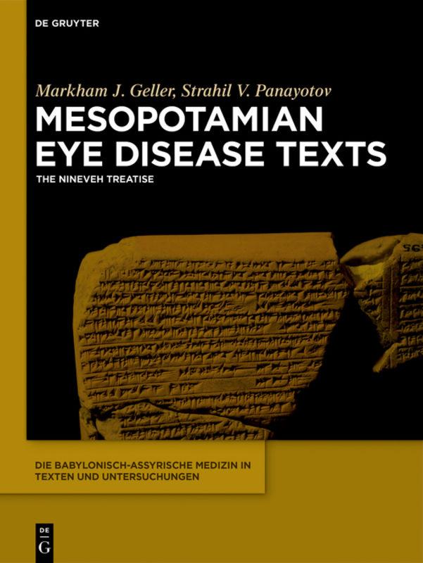 Mesopotamian Eye Disease Texts